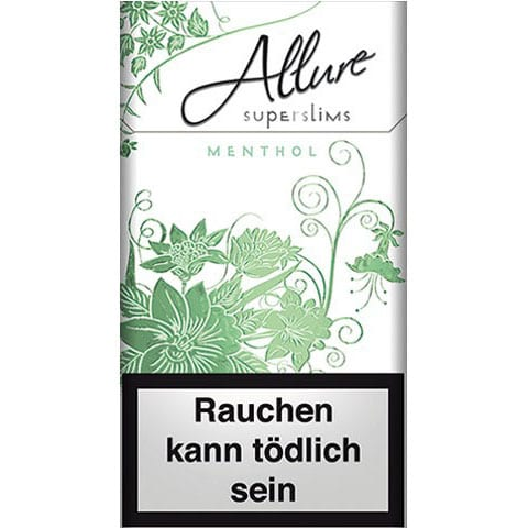 Allure Menthol SuperSlims
