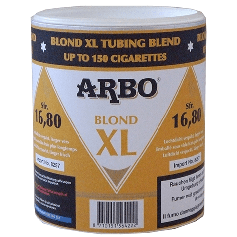 Tabac à rouler Arbo Blond XL