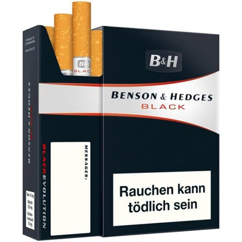 Benson & Hedges Black