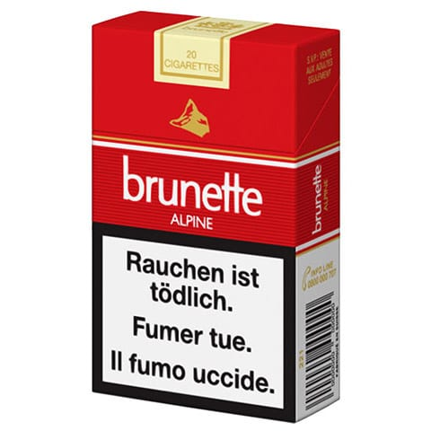Cigarettes Brunette Alpine
