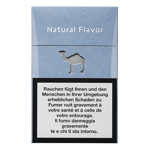 Camel Natural Flavor Blue