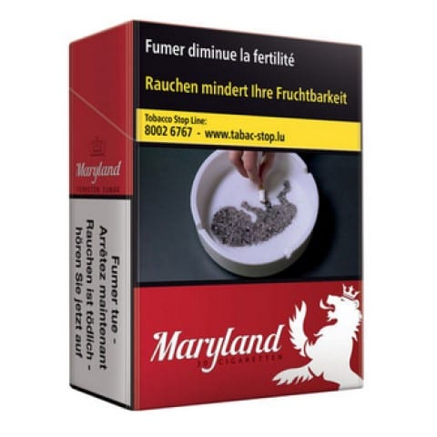 Cigarettes Maryland Rouge
