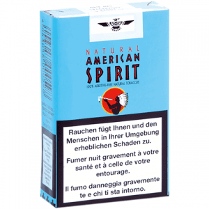 Natural American Spirit Bleu sans additifs