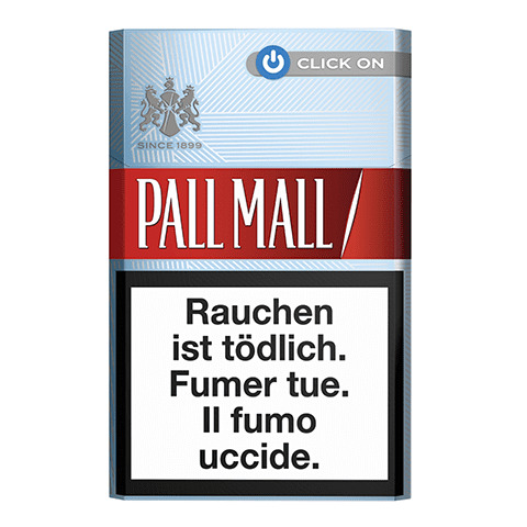 Pall Mall rouge Click On
