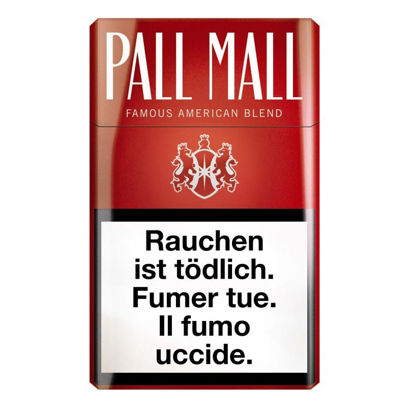 Cigarettes Pall Mall Rouge