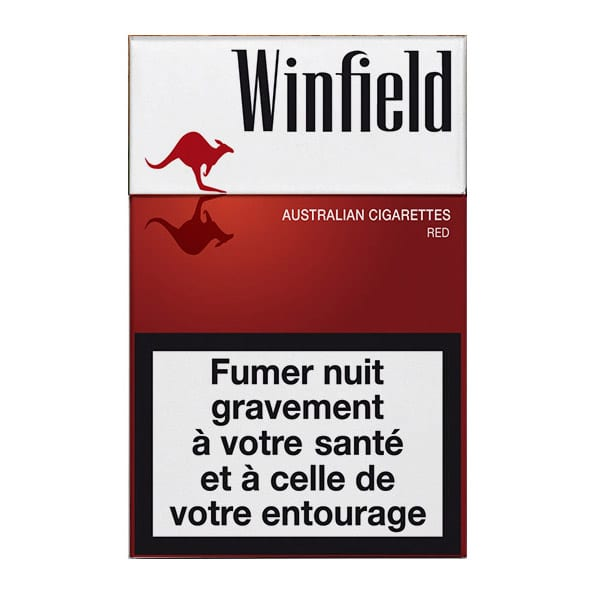 Cigarettes Winfield Rouge
